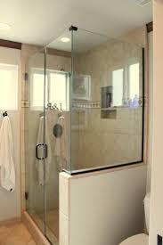 Bath Shower Tile Best 25 Half Wall Shower Ideas On Pinterest Bathroom Showers