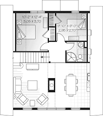 houseplans and more modern house plan second floor 032d 0534 house plans and more
