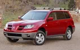 red mitsubishi outlander 2006 mitsubishi outlander information and photos zombiedrive