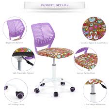 Desk Chair For Kids by Office Chairs Computer Desk Task Chair Adjustable Student Kids