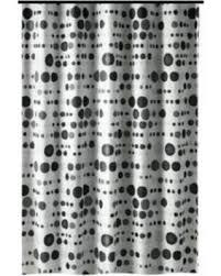 72 X 78 Fabric Shower Curtain Deal Alert Shower Curtain 72 X 78 Gamma Black And