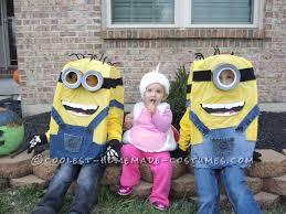 diy minion halloween costumes for kids