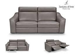 Modern Recliner Sofas Recliner Sofa By Seduta D Arte Italy