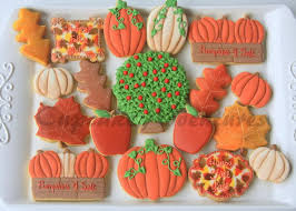 213 best decorated cookies fall thanksgiving images on
