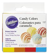 amazon com wilton primary candy color set white candy melts