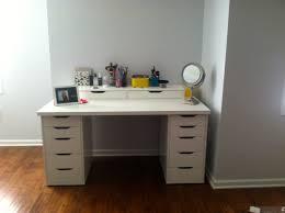 black makeup desk with drawers bedrooms black vanity set mirror with lights for bedroom