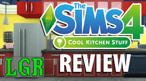 lgr the sims 4 cool kitchen stuff review youtube