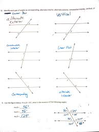 Interior And Exterior Angles Worksheet Mr Lee Mrleegeometry Twitter