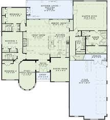 european style house plan 4 beds 3 00 baths 3090 sq ft plan 17 2561