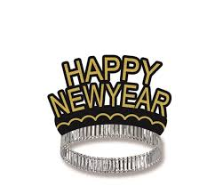 new year supplies happy new year black gold crown tiara new year s party