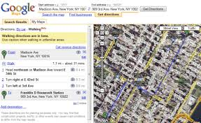 maps directions maps tests walking directions