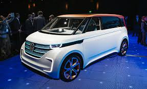 volkswagen minibus side view volkswagen budd e concept inspired by microbus u2013 news u2013 car and