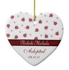 adoption themed ornaments