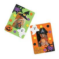 halloween picture frame magnet craft kit oriental trading