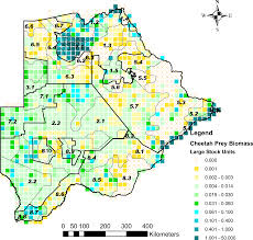 Lsu Map Relative Availability Of Natural Prey Versus Livestock Predicts