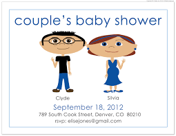 jack and jill invitation wording template cheap baby shower invites