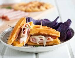 thanksgiving waffle recipe chicken waffle sandwich best sandwich 2017