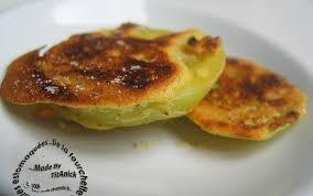 cuisiner les tomates vertes recette beignets de tomates vertes à la farine de maïs bière et