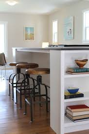island stools for kitchen industrial swivel bar stools kitchen island shelving