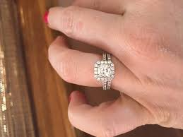 wedding rings how to wear engagement ring wedding ring vs
