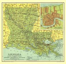 New Orleans Louisiana Map by Map