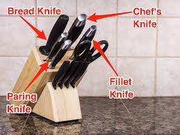what different kitchen knives should be used for business insider