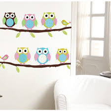 online get cheap stickers wall baby room aliexpress com alibaba cute cartoon owl wall sticker baby room nursery kids decor decal diy new worldwide store