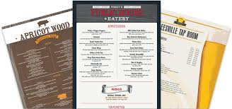 menu template menu templates musthavemenus
