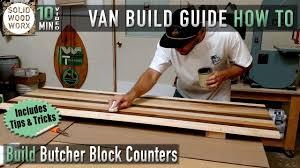 build butcher block counter tops youtube build butcher block counter tops