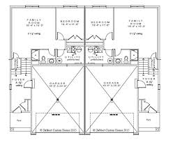 Twin House Plans Dabbert Maria 2 0 Twinhome