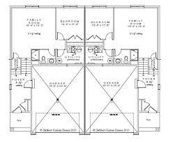 Twin House Plans Dabbert Maria 2 0 Twinhome