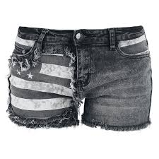 American Flag Jeans Flag Hotpants Pants Shorts And Legs
