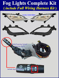 2017 hyundai elantra gt fog light lamp complete kit wiring harness