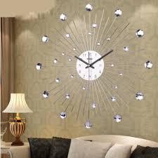 large wall clock personalized customization diamante home decorative large wall clock
