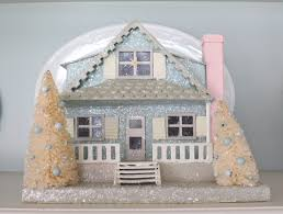 Vintage Decorations For Home by Decorating With Vintage Christmas Houses Vintage American Home
