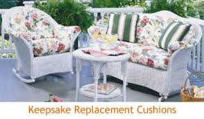 Wicker Settee Replacement Cushions Wicker And Rattan Cushions Lloyd Flanders Cushions