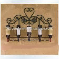 home kitchen decor wrought iron wine racks unique metal wine racks