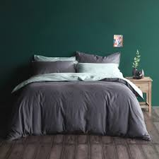 charcoal bedding hue charcoal duvet cover set cloth clay