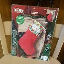 bucilla christmas plaid bucilla christmas toys cuff 18 84851 velvet tri