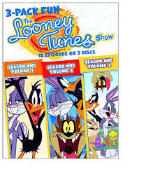 the bugs bunny and tweety show amazon com the looney tunes show 3 pack fun season 1 vol 1 3