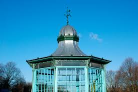 Wooden Roof Finials by Metal Gazebo For Public Spaces Victorian Bandstand Peters
