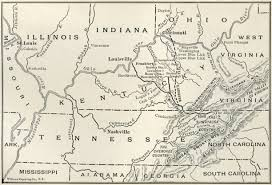 Road Map Of South Carolina Map Of The Cumberland Gap
