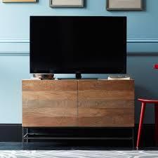 Best Home Furniture Furniture Stunning West Elm Media Console For Elegant Home