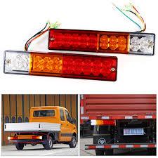 led trailer tail lights 2pcs trailer lights led stop rear tail brake reverse light turn
