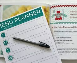 menu planner for activity days and personal progress lds ideas