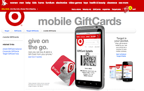 mobile gift cards target text gift card a fail experience