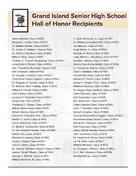Craigslist Resumes Hall Of Honor Grand Island Public Schools