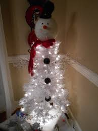 snowman tree instructions