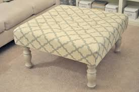 Diy Ottoman From Coffee Table by Diy Upholstered Coffee Table Les Proomis