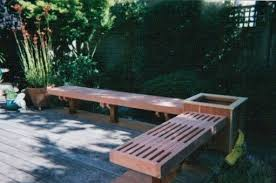 Redwood Patio Table Custom Traditional Redwood Outdoor Patio Benches By Companion